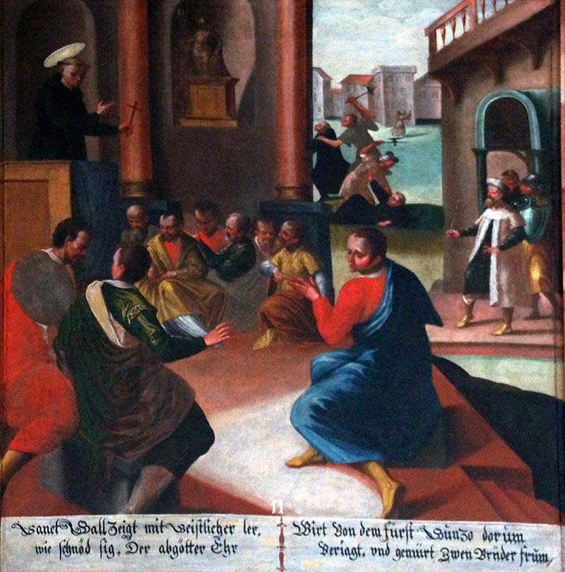 Galluszyklus Adelwil 11