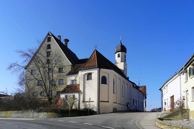 Schlosskirche Sankt Otmar Untersulmentingen