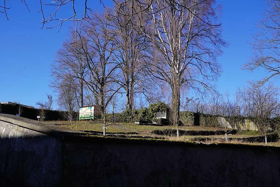 Die Kapelle Sankt Otmar von Holzhausen stand auf dem alten Friedhof