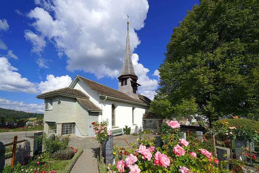 Früher war die Kirche von Witikon eine Otmarskirche