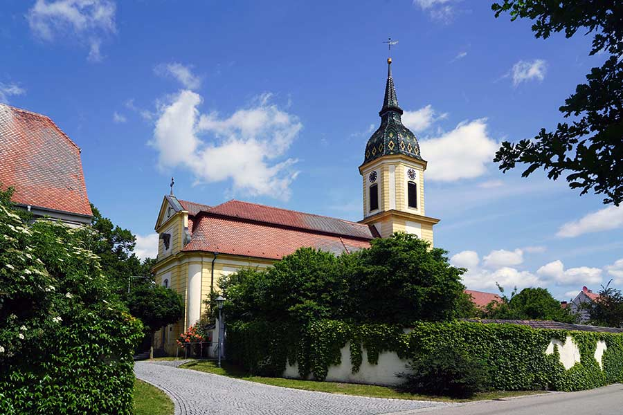 Evangelische Kirche Aha - Aussenansicht
