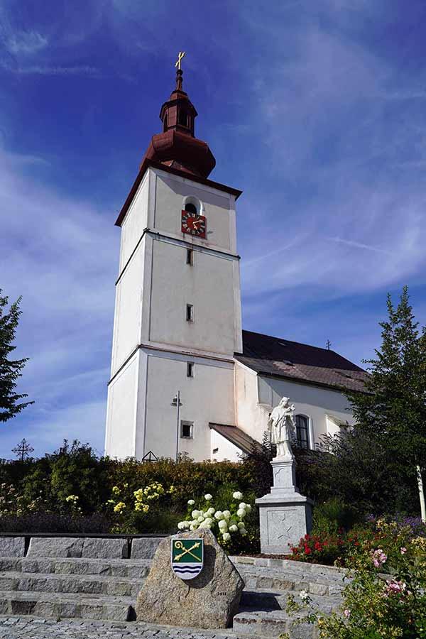 Kirche Sankt Otmar Kirchberg ob der Donau