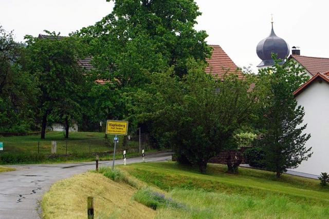 Klapfenberg war einst Standort einer Otmarskapelle