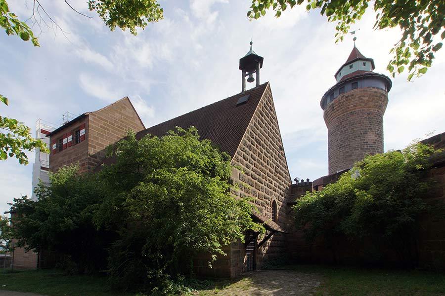 Die Walburgiskapelle Nürnberg geht auf eine Otmarskapelle zurück
