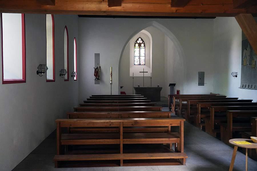 Walburgiskapelle Nürnberg - Innenansicht