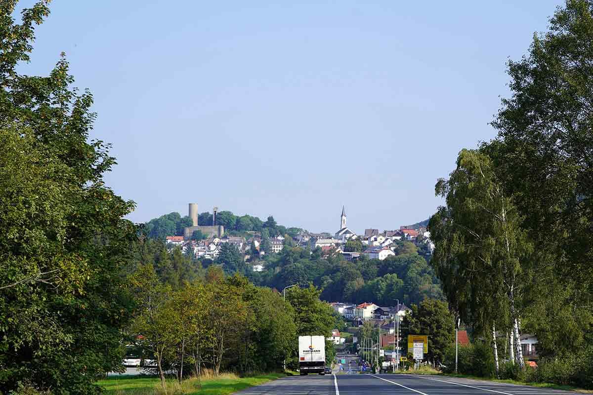 Ruine und Pfarrkirche Oberreifenberg