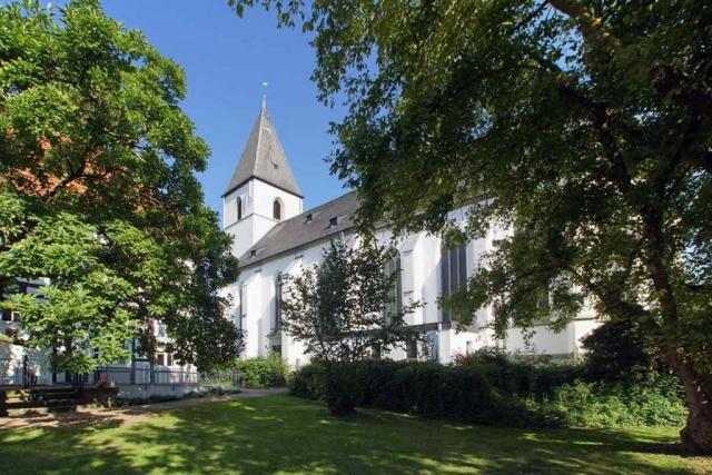 Ansicht der Kirche St. Othmar in Dinker (Welver)