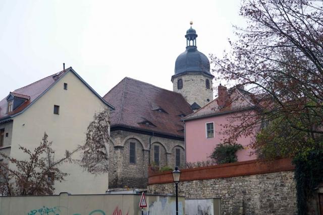 Aussenansicht der Othmarskirche Naumburg