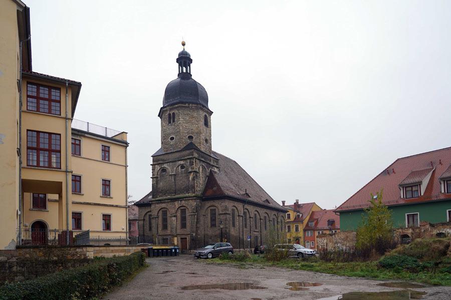 St. Othmar Naumburg, Ansicht der Kirche.