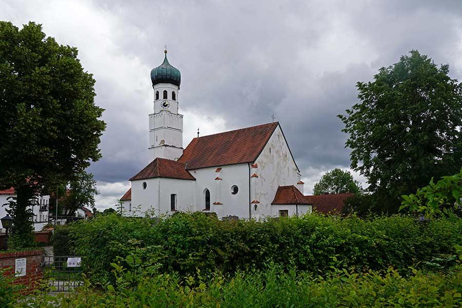 Pfarrkirche Sankt Othmar Pfettrach - Aussenansicht