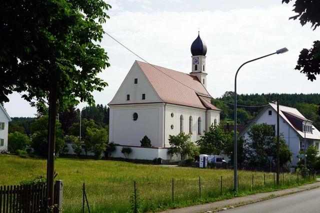 Sankt Otmar und Juliana Attenhausen - Aussenansicht