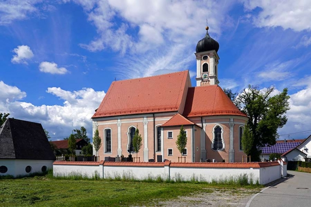 Kirche Sankt Otmar in Eutenhausen