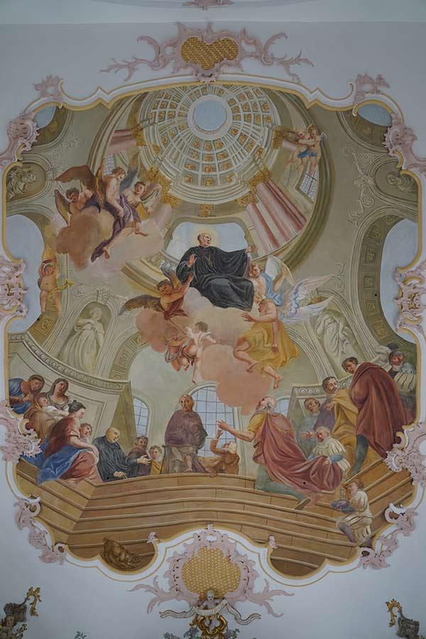Kirche Sankt Otmar in Eutenhausen - Deckengemälde