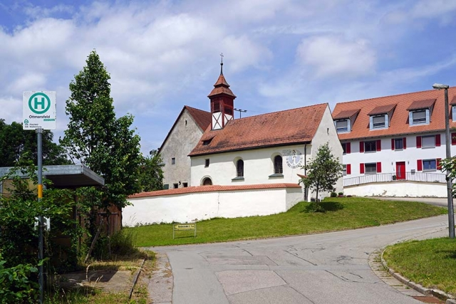 Kapelle Sankt Otmar Ottmarsfeld - Aussenansicht