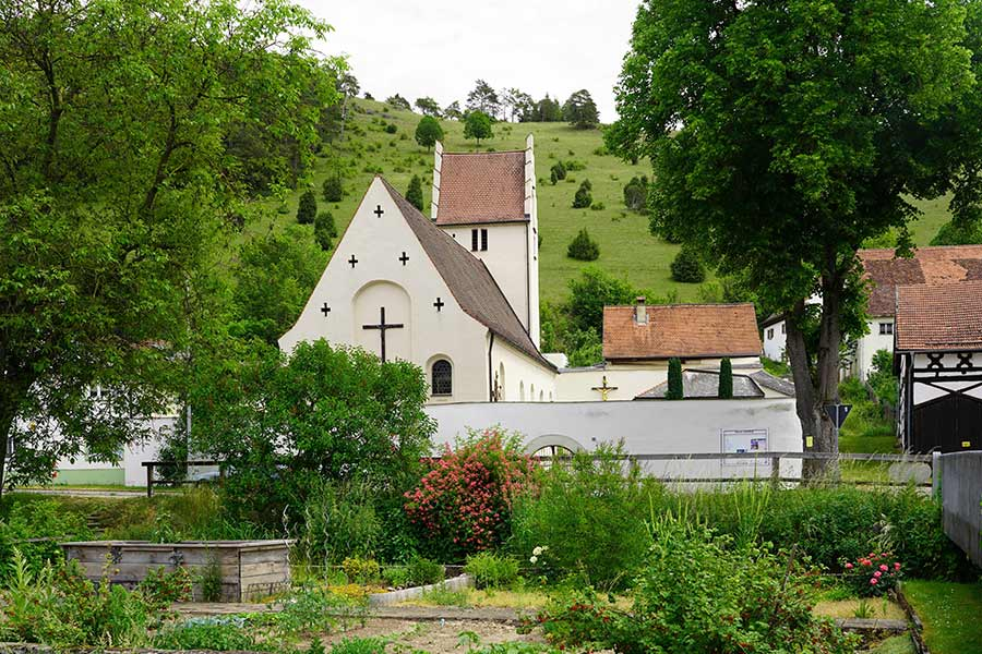 Kirche Sankt Ottmar Enkering - Aussenansicht