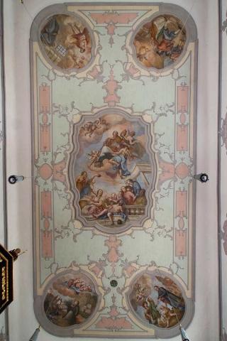 Kirche Sankt Ottmar Enkering - Deckengemälde