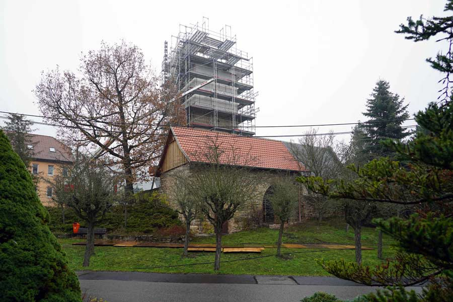 Evangelische Kirche Sankt Othmar Dosdorf von aussen