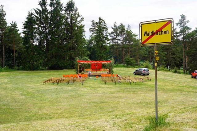 In Waldkirchen existiert keine Otmarskapelle mehr