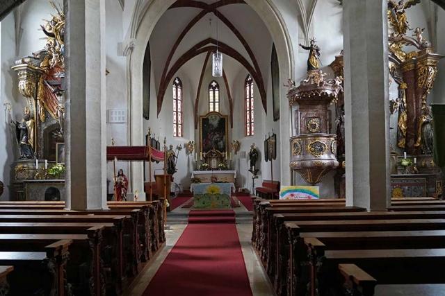 Kirche Sankt Othmar Klein-Pöchlarn Innenansicht