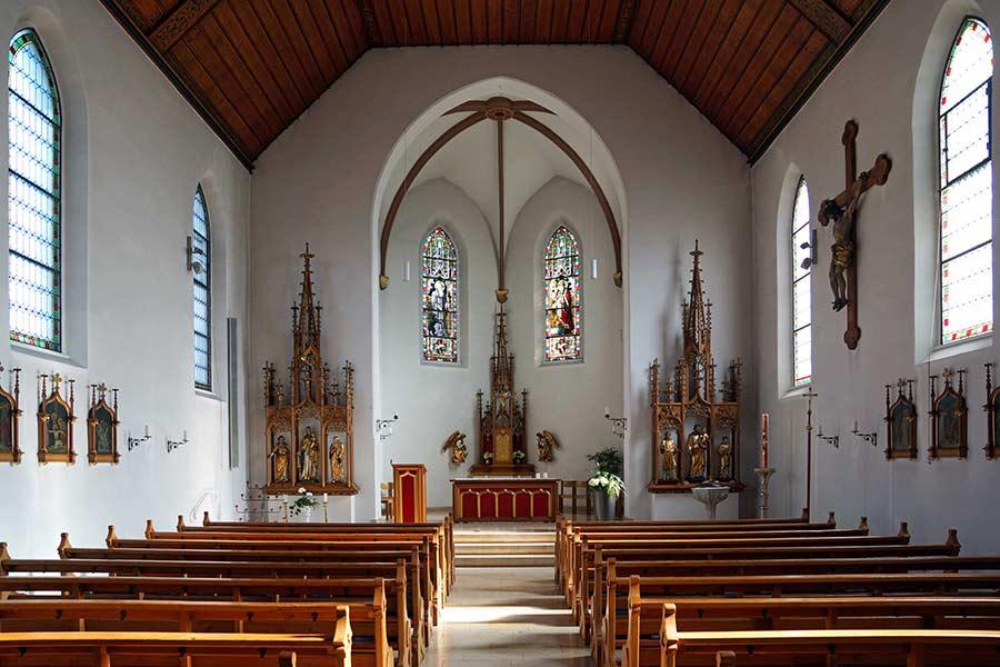 Pfarrkirche Sankt Gallus und Othmar Kaiseraugst, Innenansicht